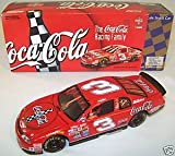 Dale Earnhardt Sr #3 Red Coca Cola 1998 Monte Carlo 1/24 Scale Action Racing 1st Head to Head Race With Dale Jr Motegi Japan Hood, Trunk Open Limited Edition