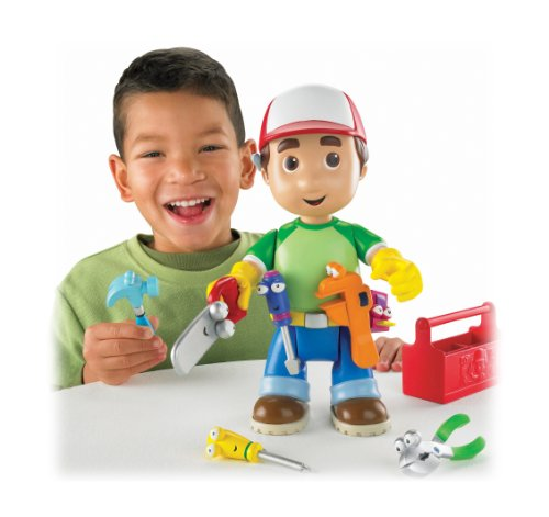 Fisher-Price Handy Manny Let's Get to Work Manny Figure