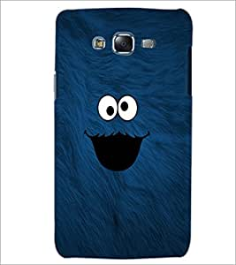 PrintDhaba cute smilie D-1141 Back Case Cover for SAMSUNG GALAXY J5 (Multi-Coloured)