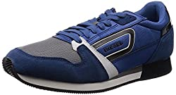 Diesel Owens Men Sneakers (Blue) - 7 UK (Blue)