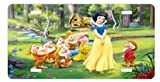 Snow white and the seven dwarfs License Plate Sign 6'' x 12'' New Quality Aluminum