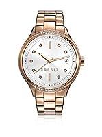 ESPRIT Reloj de cuarzo Woman ES108562003 Plata/Oro Rosa