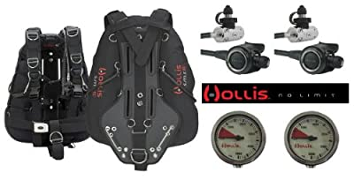  Hollis SideMount System Scuba Diving Package -Save $659 (Size Small/Medium) produced by Hollis