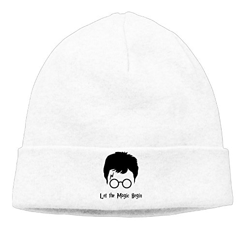 DETO Men's&Women's Harry Potter Patch Beanie B-boyWhite Hat (Carters Space Dogs compare prices)
