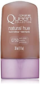 CoverGirl Queen Collection Liquid Makeup Foundation, Rich Mink 750, 1.0 Ounce Bottles