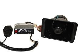 100 Watt Slim Police Siren & Speaker