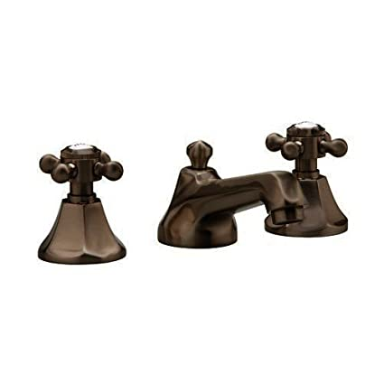 Mirabelle MIRWSBR800ORB Oil Rubbed Bronze Boca Raton Widespread Bathroom Faucet - Includes Pop-Up Drain Assembly