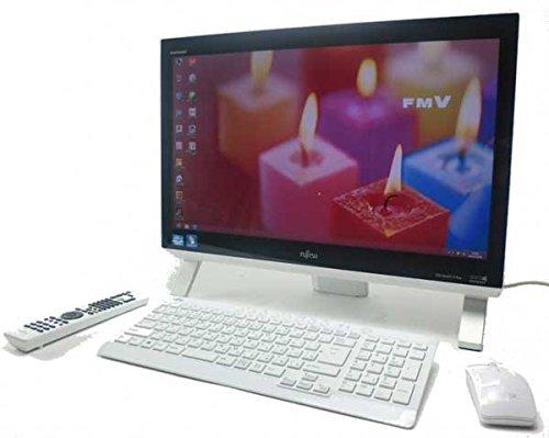 液晶一体型 パソコン 富士通 FH56/JD ホワイト Windows 8 21.5インチワイド Core i7 ブルーレイ 地デジ/BS/CS Kingsoft Office付 中古