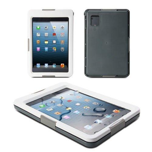 GMYLE (TM) 防水ハードケース全天候型(防塵・耐衝撃) 防水規格IPX8取得 [ 7.9 インチ iPad mini 対応 ] [ホワイト]