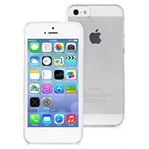 Snugg iPhone 5 / 5S Ultra Thin Case in Clear With Lifetime Guarantee - High Quality Slim Profile and Protective for Apple iPhone 5 / 5S