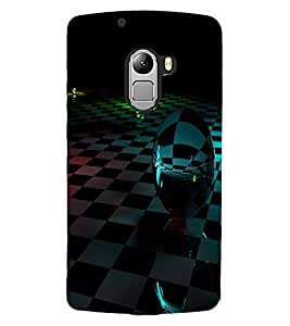 ColourCraft Printed Design Back Case Cover for LENOVO VIBE K4 NOTE
