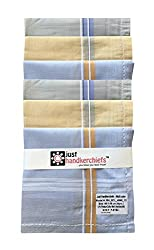 Handkerchief for Mens, Color Rumal (12pc Pack) 41x41 Cm - By XYZ Textiles