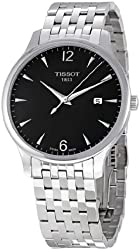 Tissot Men's T0636101106700 Silver-Tone Stainless Steel Anthracite Dial Watch