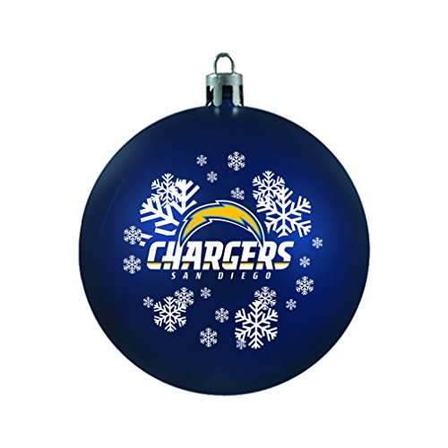 NFL San Diego Chargers Shatterproof Ball Ornament