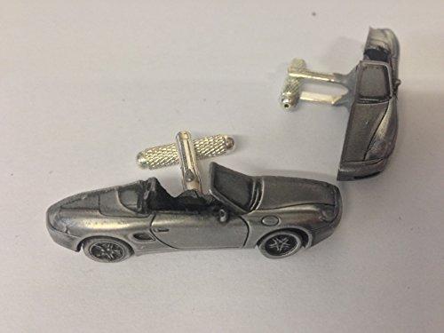 porsche-boxster-3d-cufflinks-classic-car-pewter-effect-cufflinks-ref192