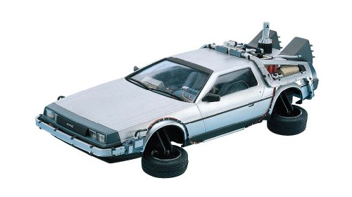 Dragon Models Back to The Future II Delorean Model Kit, Scale 1:24 (Delorean Model Kit compare prices)