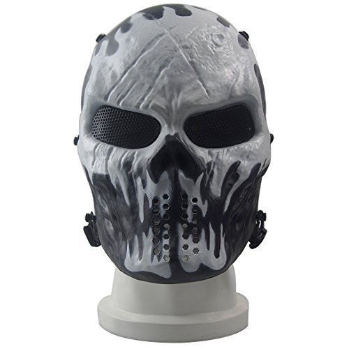 [Syrinx Wildfire Skeleton Mask - Protective Mask Gear for Use As Tactical Mask & Airsoft and Outdoor Cs War Game Mask - Scary Ghost Mask for] (Disguise Costumes For Turkey)