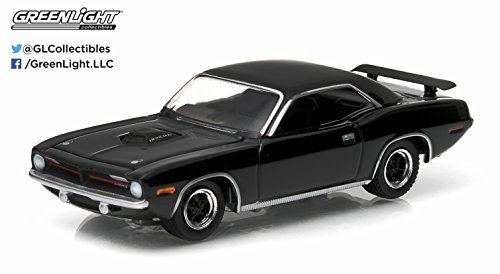1970 Plymouth Hemi Cuda * Black Bandit Collection * Series 11 Greenlight Collectibles 2014 Limited Edition 1:64 Scale Die-Cast Vehicle
