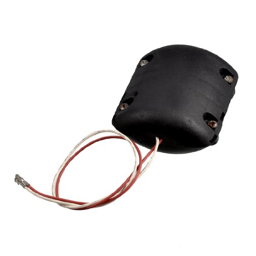 Amico Black Shell DC 12V 0.25A 4100RPM Vibration Motor for Massage Cushion