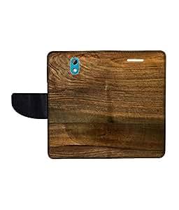 KolorEdge Printed Flip Cover For HTC Desire 526G Plus Multicolor - (50KeMLogo11600HTC526GPlus)
