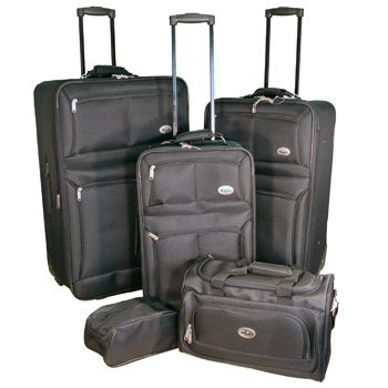 Confidence Luggage 5 Piece Suitcase Set from Confidence