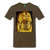 Spreadshirt Men's Pharaoh Tutankhamun T-Shirt