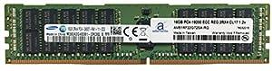 Samsung Original 16GB (1x16GB) Memory Upgrade for Servers DDR4 2400MHZ PC4-19200 ECC Registered Chip 2Rx4 CL17 1.2V DRAM Adamanta