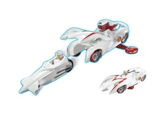 Hot Wheels Speed Racer Dx Battle Racer: Mach 6 New ...