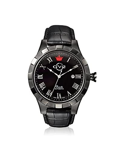 GV2 by Gevril Men's 9504 Scacchi Black Leather Watch