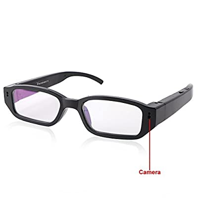 Toughsty™ 8GB 1920x1080P HD Video Glasses Hidden Camera Mini Eyewear DV Camcorder with Audio Function
