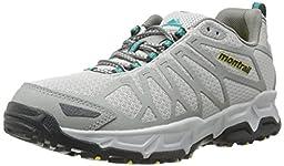 Montrail Womens Fluid Fusion Outdry Trail Shoe, Cool Grey/Platinum, 9.5 M US