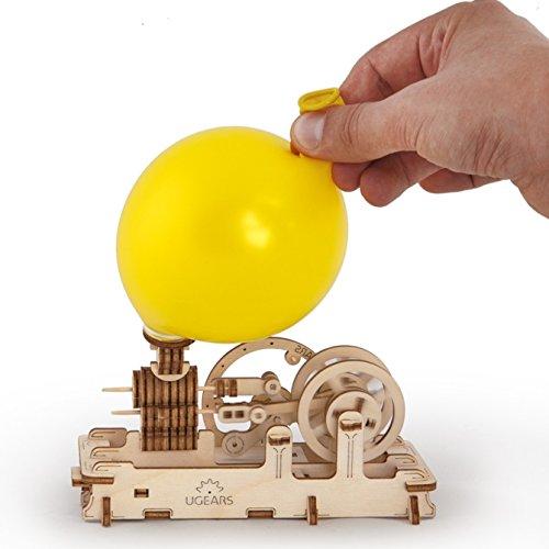 3D Holz Puzzle LUFTMOTOR mechanischer Baukasten