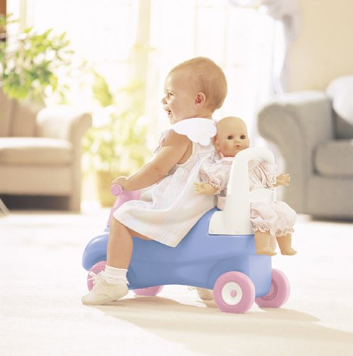 An Image of Little Tikes Push and Ride Doll Walker