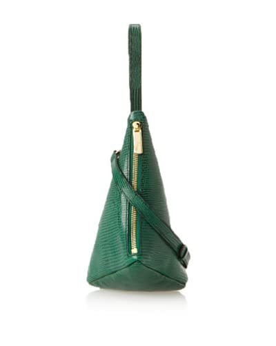 J Apostrophe Women's Como Triangle Wristlet, Green As You See