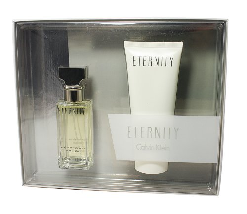 Calvin Klein Eternity Geschenkset femme / woman, Eau de Parfum Vaporisateur / Spray 30 ml, Duschgel 100 ml, 1er Pack (1 x 1 Set)