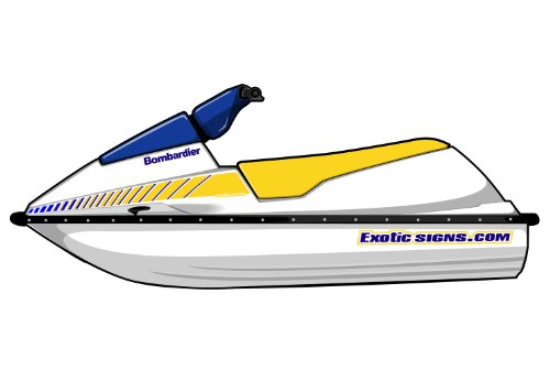 Exotic Signs Seadoo SP Graphic Kit ES0002SP