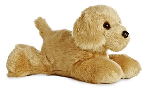 "Mini Flopsie Golden Retriever 8"" by Aurora"