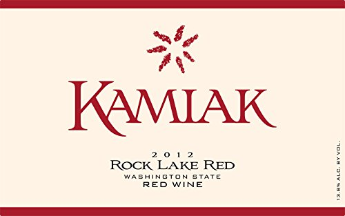 "2012 Kamiak ""Rock Lake Red"" Blend Of Cab, Merlot, Syrah 750 Ml"