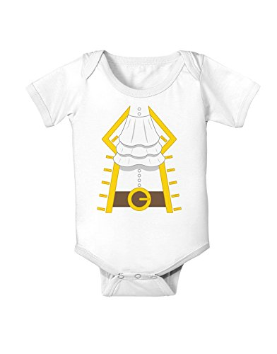 Pirate Captain Costume Gold Baby Romper Bodysuit