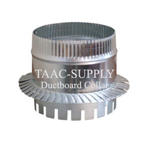 Sheet Metal Ductboard Take off Start COLLAR Damper 14