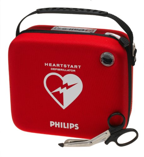 Philips HeartStart Home Automated External Defibrillator Standard Carry Case Amazon.com