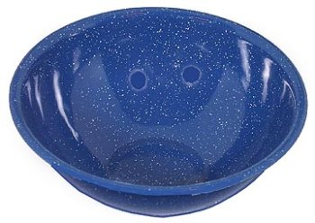 Gsi Outdoors Blue Enamelware 10.75 Inch Mixing Bowl