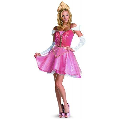 Sleeping Beauty Aurora Prestige Adult Costume Adult (Medium (8-10))