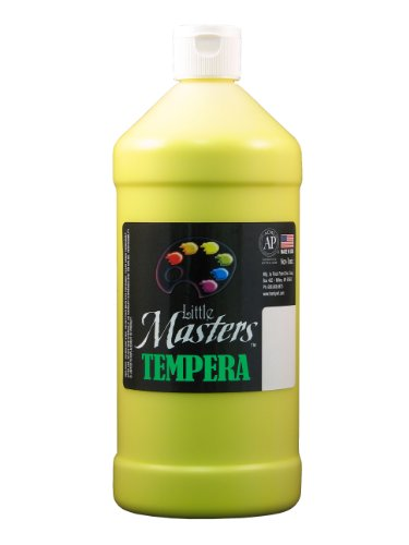 Little Masters by Rock Paint 203-710 Tempera Paint, 1, Yellow, 32-Ounce