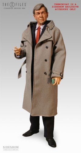 Picture of Sideshow X-Files Cigarette Smoking Man (formerly Cancer Man) Exclusive 12