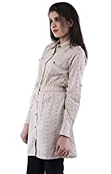 AARR Shciffly Long Sleeves Collar Neck Poly Cotton Shirt