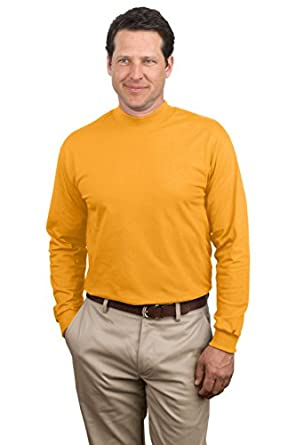 Port & Company Mock Turtleneck (PC61M) Available in 9 Colors 2X Gold