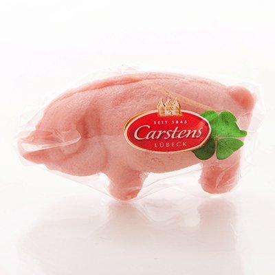 Carstens Lubecker Marzipan Lucky Pig 35g