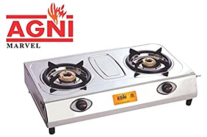 Marvel SS 2 Burner Gas Cooktop