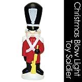 クリスマス イルミネーション ブローライト 黒い帽子の兵隊さん  C3360